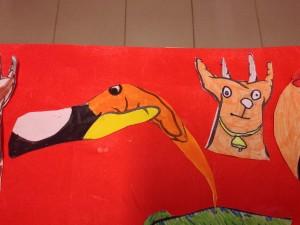 le toucan et la vache