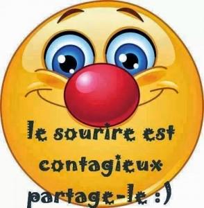 Le sourire est contagieux