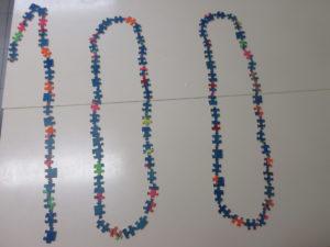 100 pièces de puzzles